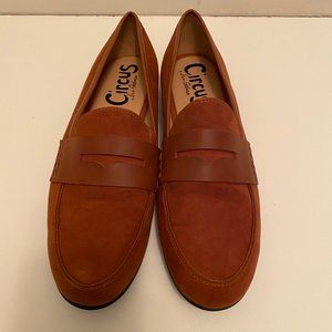Sam Edelman Circus   Brown Suede Loafers Size 9.5